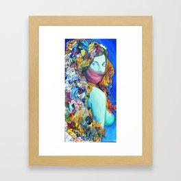 Medusas Sister Framed Art Print
