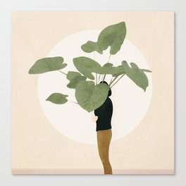 Too Litle for this Pot Canvas Print