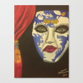 Theater mask Canvas Print