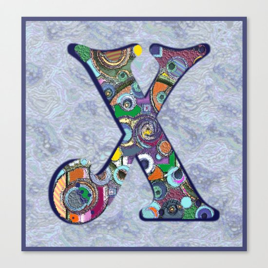 The Letter X Canvas Print