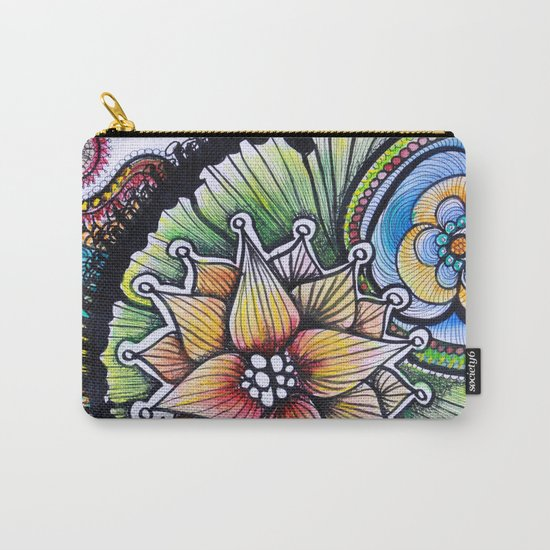 Floralita Carry-All Pouch