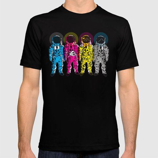 CMYK Spacemen T-shirt