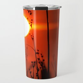 Red Bay Sunset Decor. Travel Mug