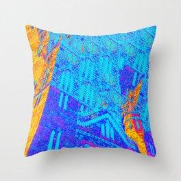 Bajan Parliament Throw Pillow