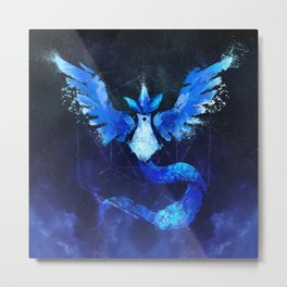 Mystical Avian Metal Print