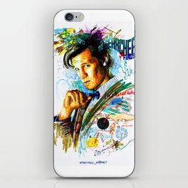 Eleventh Doctor iPhone Skin