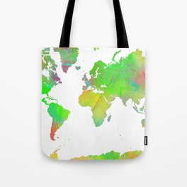 World Map 7 Tote Bag