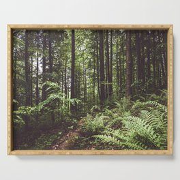 Woodland - Landscape and Nature Photography Serving Tray