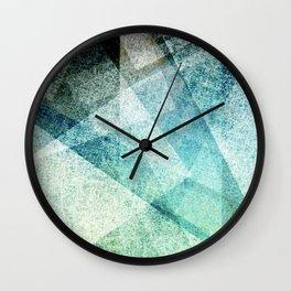 Geometric fractal Wall Clock