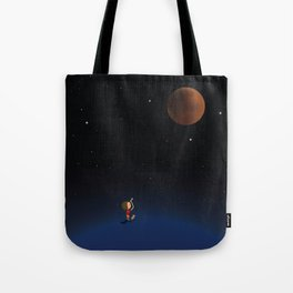 The Red Moon Tote Bag