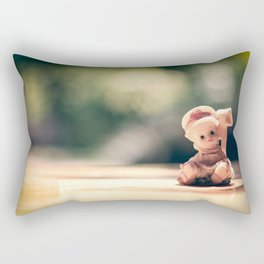 creppy doll Rectangular Pillow