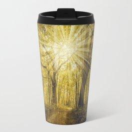 Forest of Light Travel Mug
