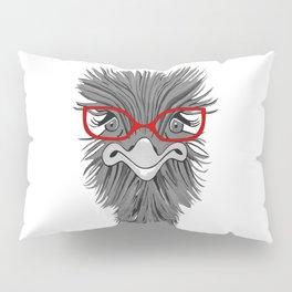 Wise Ostrich Pillow Sham