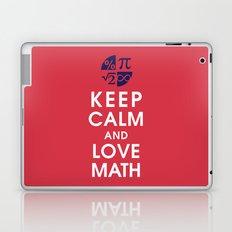 Keep Calm and Love Math Laptop & iPad Skin