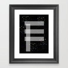 Far, far away Framed Art Print