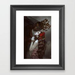 Secret Date Framed Art Print
