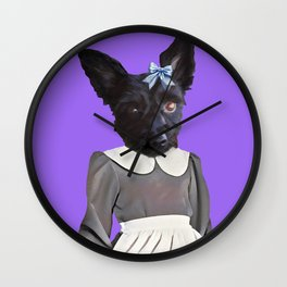 Izzy The Dog Wall Clock