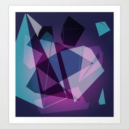 Shape Color Art Print