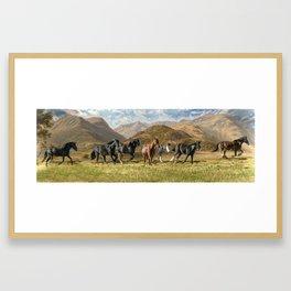 Freedoms Run Framed Art Print