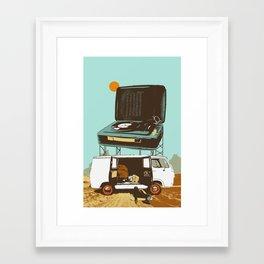 BROKEDOWN Framed Art Print