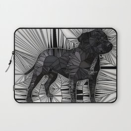 Staffordshire Bull Terrier Mosaic Laptop Sleeve