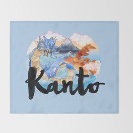 Kanto Throw Blanket