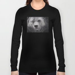 Bear Charcoal Long Sleeve T-shirt