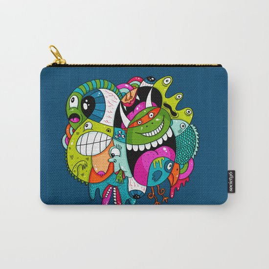 Complicated Scribble Carry-All Pouch