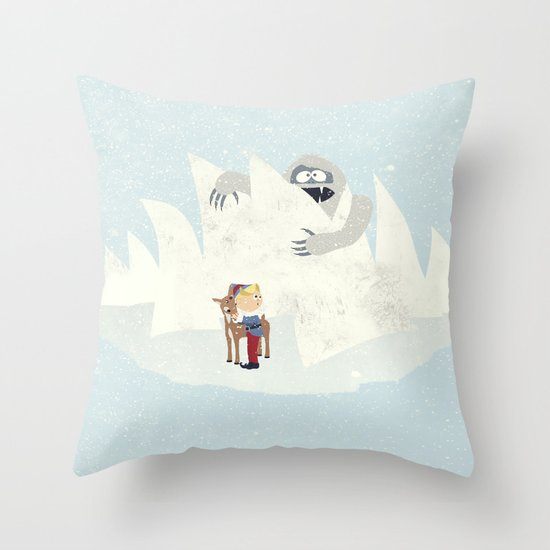 Douse the Light Throw Pillow