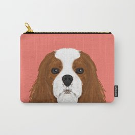 Bode - King Charles Spaniel customizable pet art for dog lovers  Carry-All Pouch