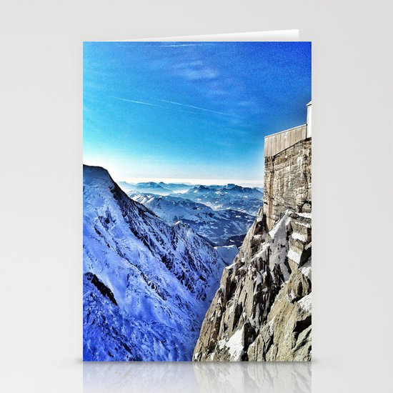 Mont-Blanc-France Stationery Cards