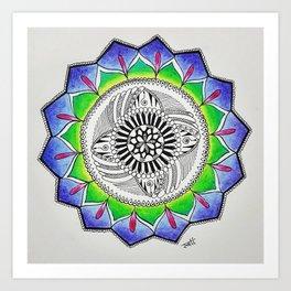 Mandala Decor Art Print