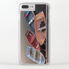 Four Skiffs Clear iPhone Case