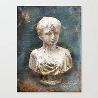antique Canvas Prints featuring ANTIQUE by VIAINA