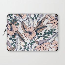 Exotic flowering and pattern geometric Laptop Sleeve