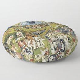 THE GARDEN OF EARTHLY DELIGHT - HEIRONYMUS BOSCH Floor Pillow
