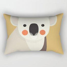 Koala, Animal Portrait Rectangular Pillow