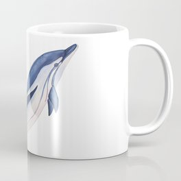 Striped baby dolphin Coffee Mug