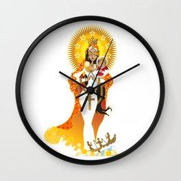 La Virgen de la Caridad del Cobre Wall Clock
