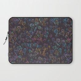 Pixelated Spirals Laptop Sleeve