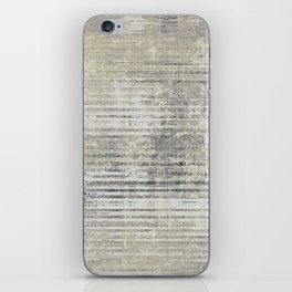 Vintage Grey iPhone Skin