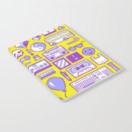 """""""Childhood Memories"""" pixel art poster Notebook"""