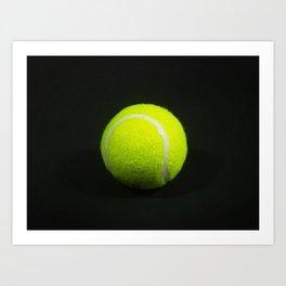 Tennis Ball Art Print