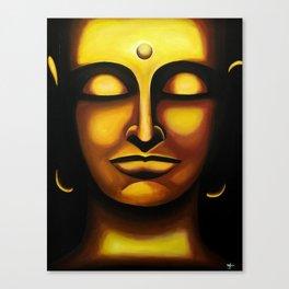 Gold Buddah Canvas Print