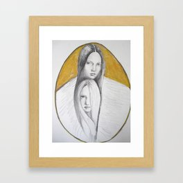 enmeshed  Framed Art Print