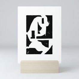Dancing Spaces 3 Mini Art Print