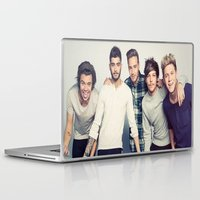 one direction Laptop & iPad Skins featuring One direction by kikabarros