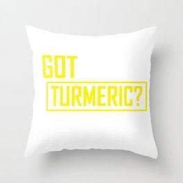 Tumeric Natural Healing Product Throw Pillow
