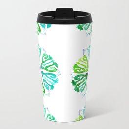 Ethnic style pattern Metal Travel Mug