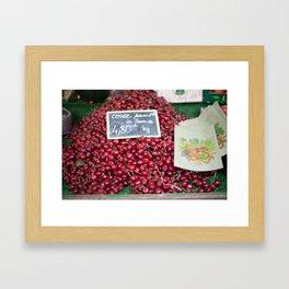 Market 5 Framed Art Print